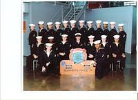 Graduation class from Gunners Mate A school, Great Lakes IL.